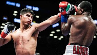 Mikey Garcia hits Adrien Broner