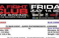 Official Gutierrez-Alvarado Bout Sheet