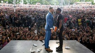 Mayweather-McGregor Press Conference in Toronto