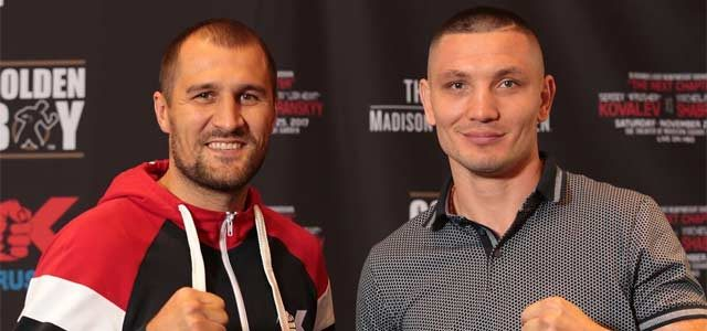 Kovalev-Shabranskyy Press Conference