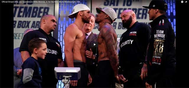 Live Stream: Saunders vs Monroe Jr