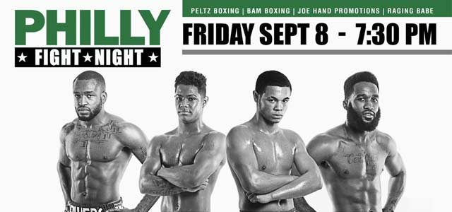 Philly Fight Night Sept 2017 promo