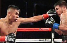 Manny Robles hits Jose Estrella