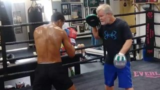 Alberto Machado Training