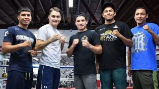 Barroso vs Maldonado Jr Media Workout