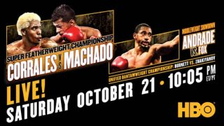 Corrales vs Machado on HBO