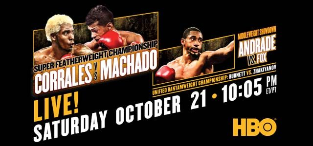 Corrales vs Machado on HBO
