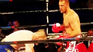 Kovalev vs Shabranskyy from Ringside