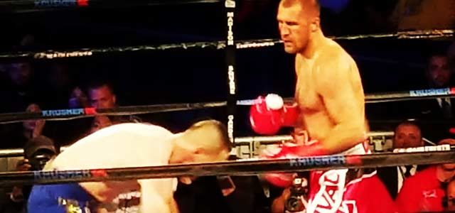 Kovalev vs Shabranskyy from Ringside