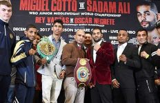 Cotto vs Ali Final Press Conference
