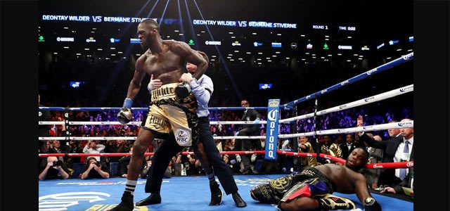 Deontay Wilder Knocks Out Bermane Stiverne
