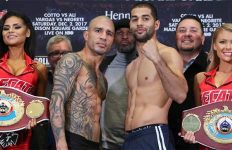 Miguel Cotto-Sadam Ali Weigh In
