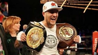 "Sergey ""Krusher"" Kovalev with Belts"
