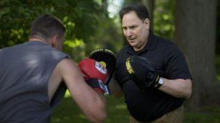 Dr. Brian Raditz sparring
