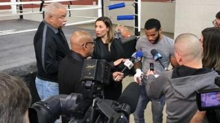 Lamont Peterson Media Workout