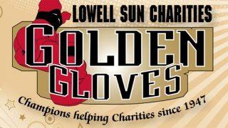 Lowell Sun Charities Golden Gloves logo