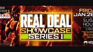 Real Deal Boxing Jan 27 at SugarHouse Casino