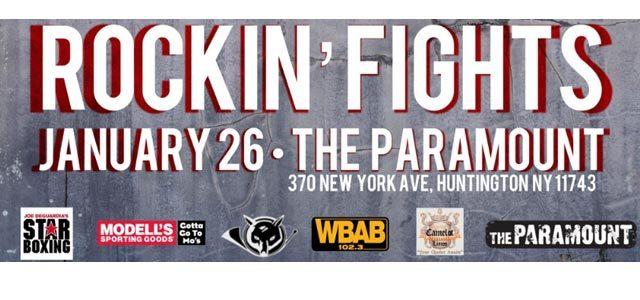 Rockin Fights poster banner