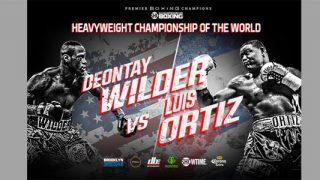 Deontay Wilder-Luis Ortiz