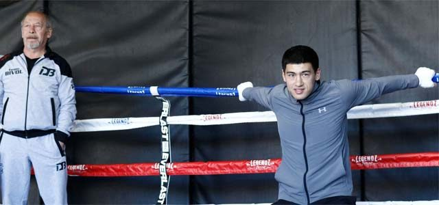 Dmitry Bivol Media Workout