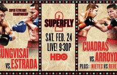 Superfly 2 on HBO Boxing After Dark on Feb 24