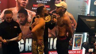 Tito Serrano vs Malik Hawkins presser