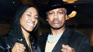 Jacqui and Joe Frazier