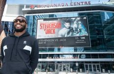 Badou Jack at Air Canada Centre