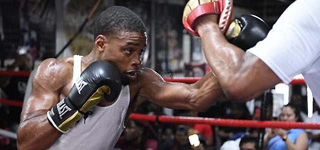 Errol Spence Jr Dallas Workout photo