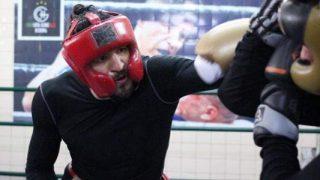 Humberto Velazco training