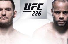 UFC 226: Miocic vs Cormier banner