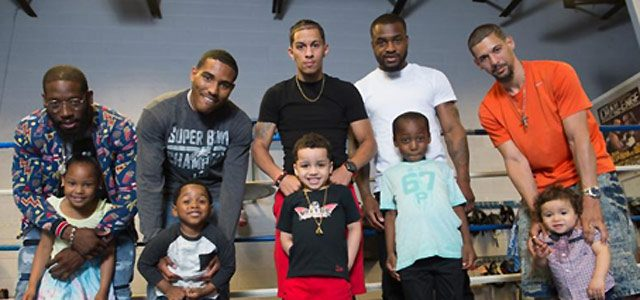 Boxing Fathers with Children