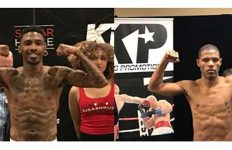 Tyrone Crawley Jr vs Ricardo Garcia weigh in photos