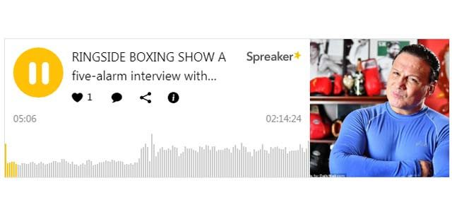 Ringside Boxing Show featuring Vinny Paz