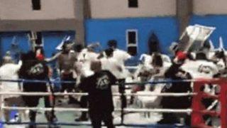 Carlos Jairo Cruz - boxing Riot