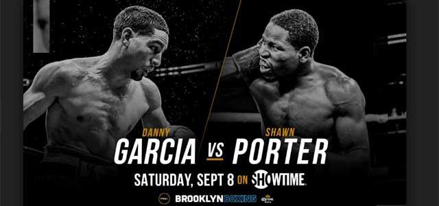 Danny Garcia vs Shawn Porter banner