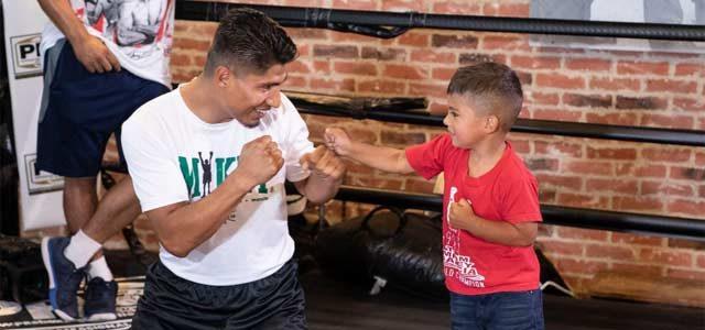 Mikey Garcia 2018 Media Workout