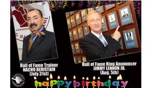 Beristain and Lennon birthdays