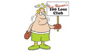 Ken Hissner's 100 Loss Club
