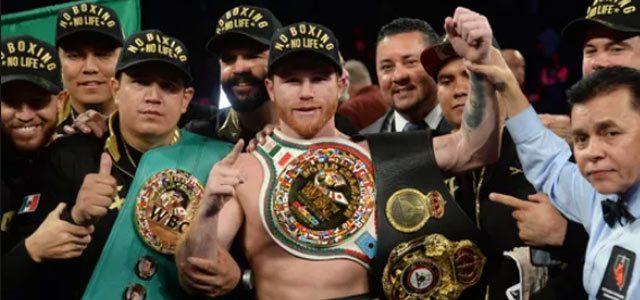Canelo Alvarez victorious over Golovkin