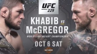 Khabib vs Mcgregor