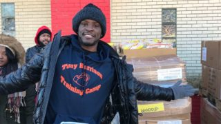 Tony Harrison Holiday Toy Giveaway