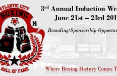 Atlantic City Boxing Hall of Fame Sponsorship Opportunities