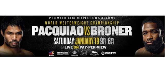 Pacquiao vs Broner banner