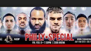 Boxing at 2300 arena