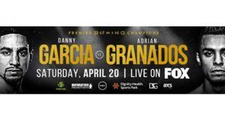 Garcia vs Granados banner