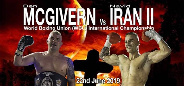 McGivern vs Iran banner