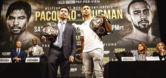Pacquiao vs Thurman Press Conference