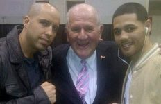 Danny Serratelli, Harold Lederman and Michael Perez