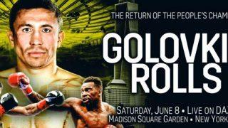 Golovkin vs Rolls